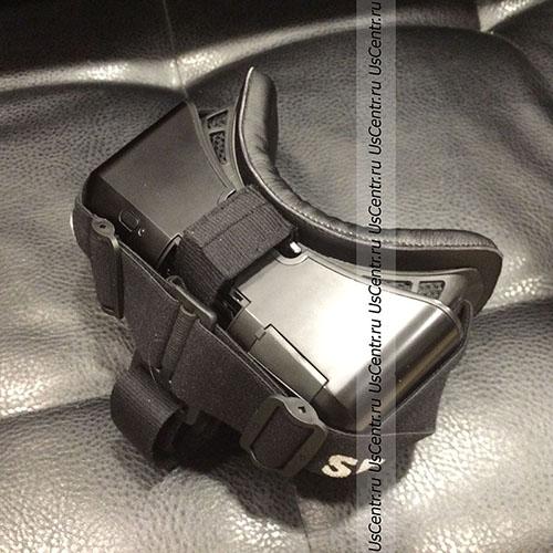Подушка на Oculus Rift DK2