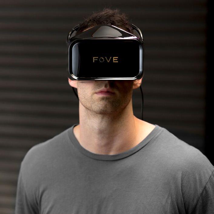 шлем виртуальной реальности Fove vr