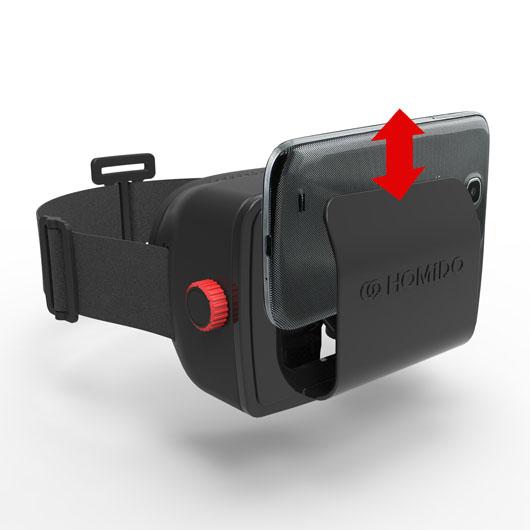 очки виртуальной реальности HOMIDO-2
