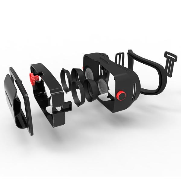 Гарнитура виртуальной реальности HOMIDO-3