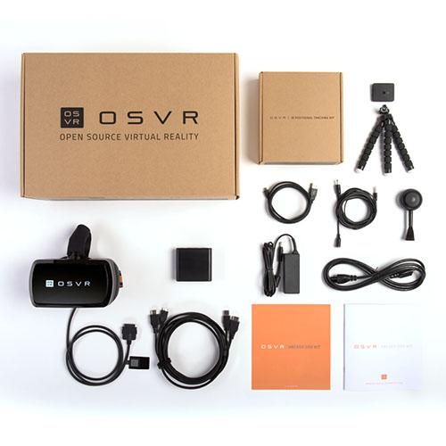 Поставляемый комплект шлема виртуальной реальности OSVR HDK2